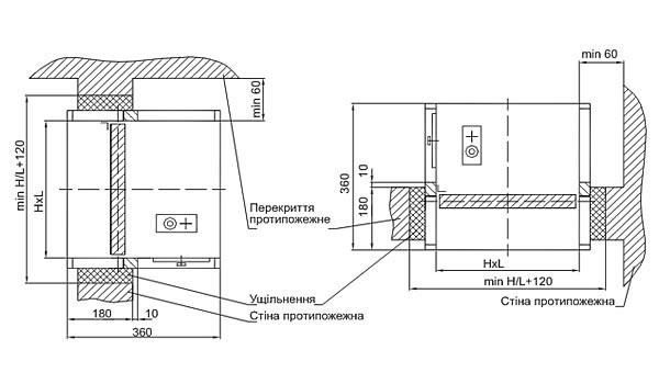 Клапани димовидалення КПВ