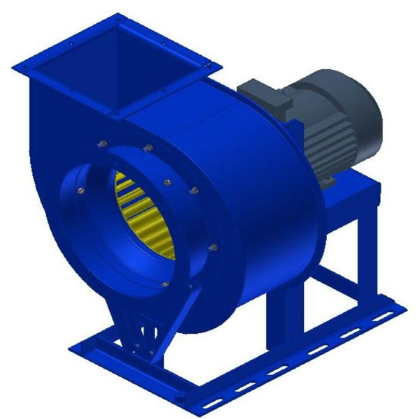 Вентилятор радиальный ВР-287-46.1