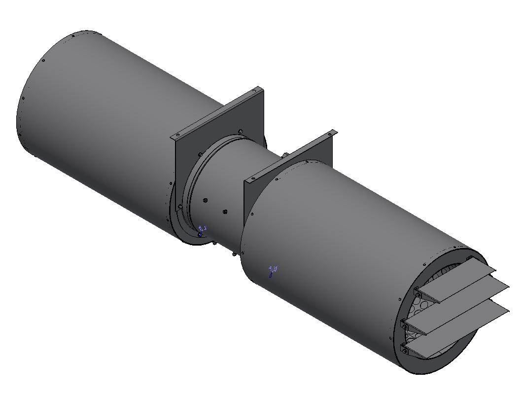 Осевой струйный вентилятор ВОСДВ-15-320