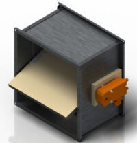 Разработан клапан противопожарный универсальный упрощенной конструкции КПВ-1,0